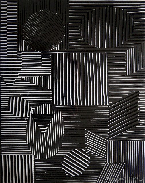 VICTOR VASARELY, Signed Offset Print, 1965