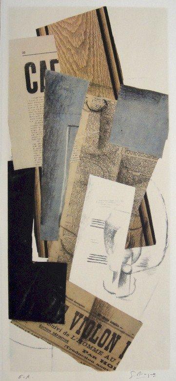GEORGES BRAQUE, Signed original Lithograph, 1947