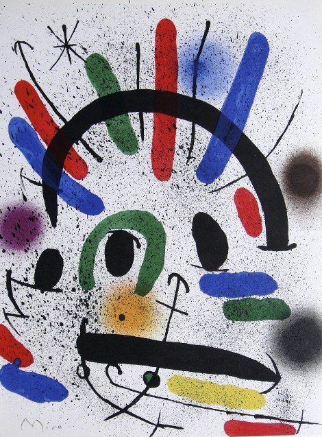 Joan MIRO, signed Lithograph, 1972