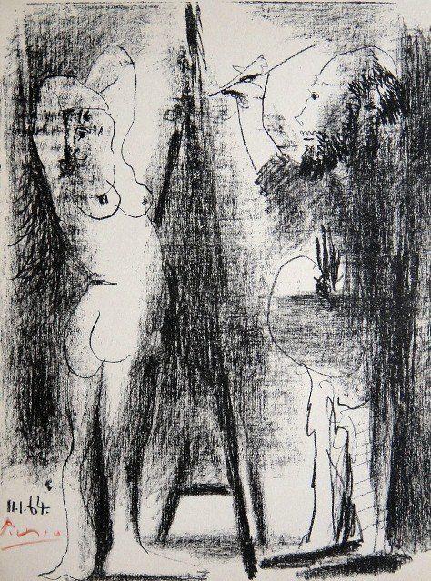 Pablo Picasso, original Lithograph, 1964