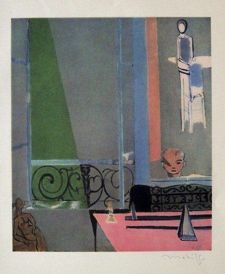 Henri Matisse signed Lithograph 1947