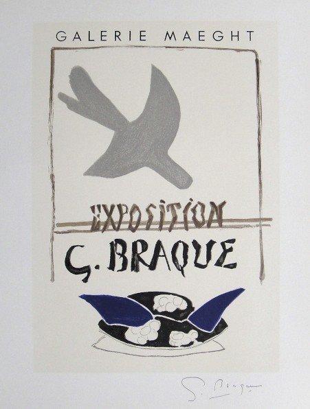 Georges Braque Lithograph Ecole de Paris