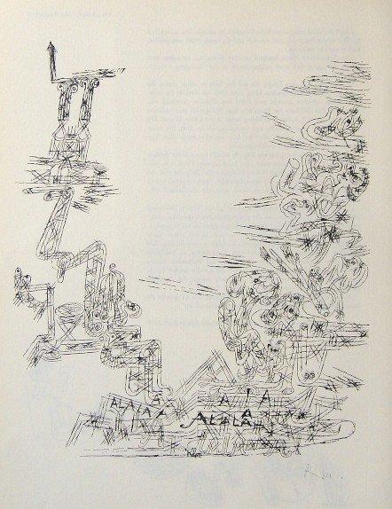 Paul Klee, signed original Lithograph, 1939
