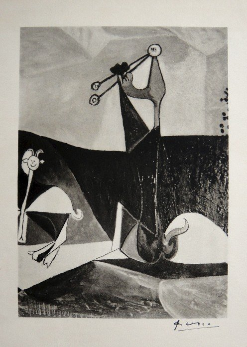 Pablo Picasso, Special Print Antibes, 1948