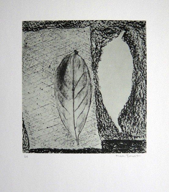 Max Ernst, signed Lithogrraph, 1957