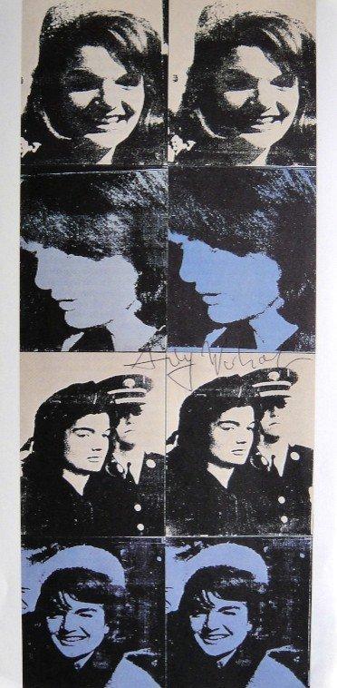 ANDY WARHOL, Signed Print, 1983