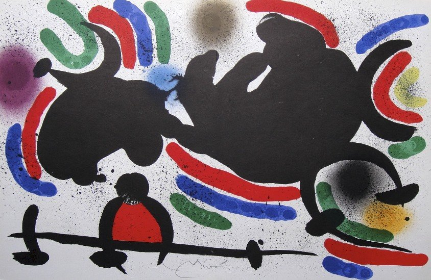 Joan MIRO, signed Lithograph, 1970