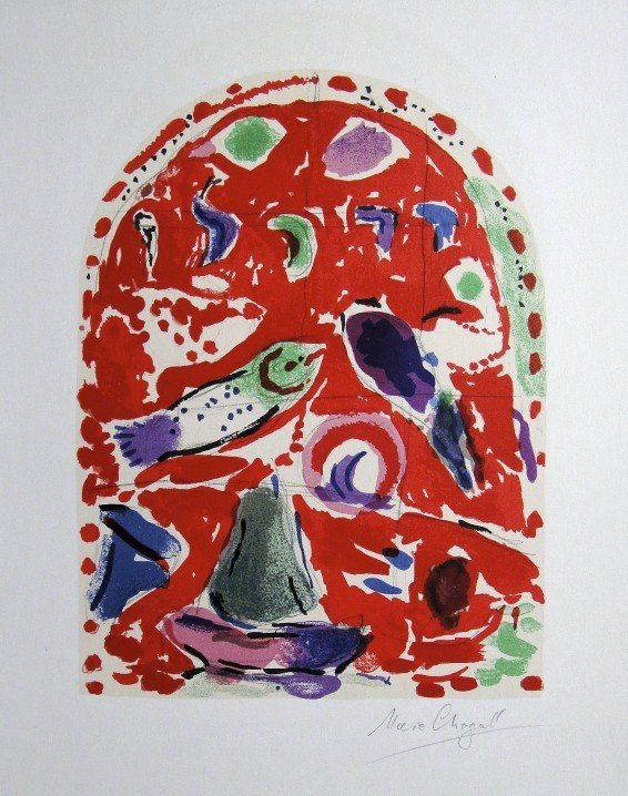 5: Marc Chagall, signed Lithograph 1962