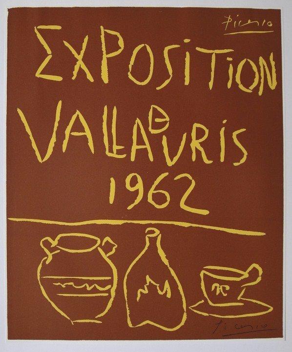 10: Pablo PICASSO, signed Print, 1962