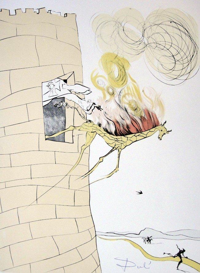 14: Salvador Dali, signed Lithograph, 1974