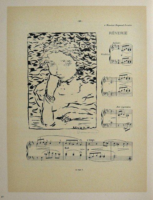 19: PIERRE BONNARD, Signed Lithograph 1894