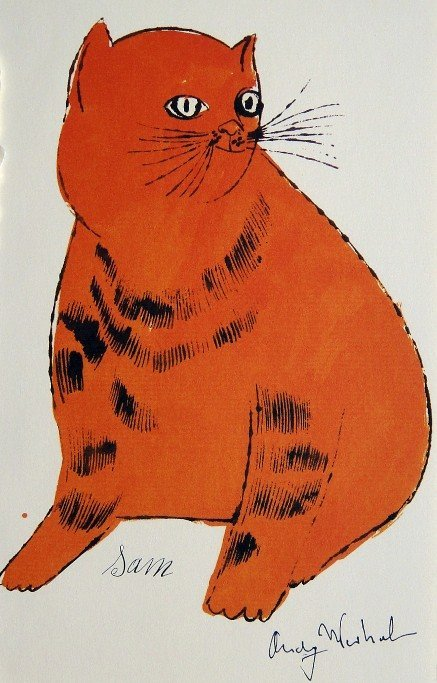 87: ANDY WARHOL, Special signed Print, 1982