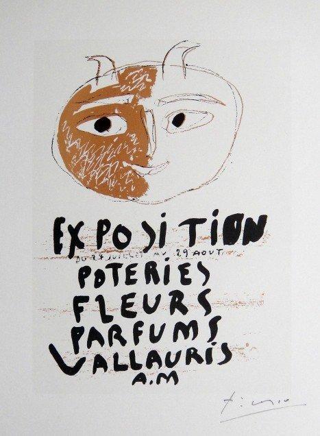 1: Pablo PICASSO, signed Print, 1962