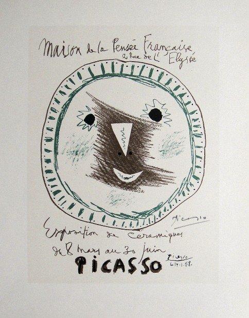11: Pablo PICASSO, signed Print, 1962