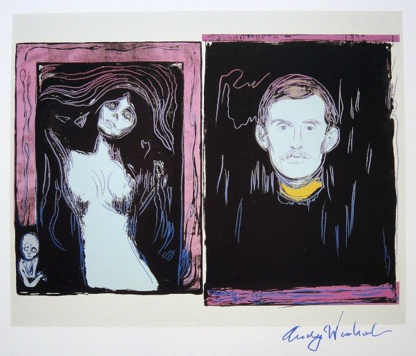 17: ANDY WARHOL, Signed Print, 1984