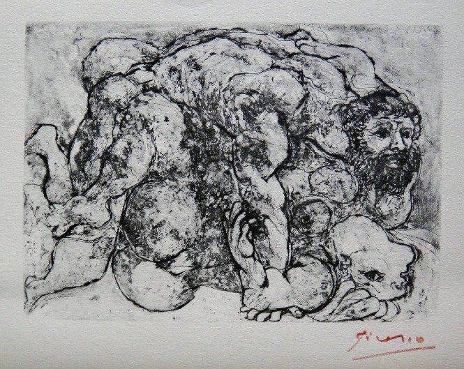 "24: PABLO PICASSO  Lithograph  ""Suite Vollard"""