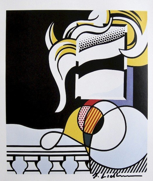 ROY LICHTENSTEIN, Signed Print, 1982