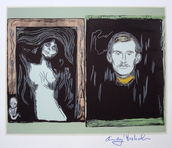 ANDY WARHOL, Signed Print, 1984
