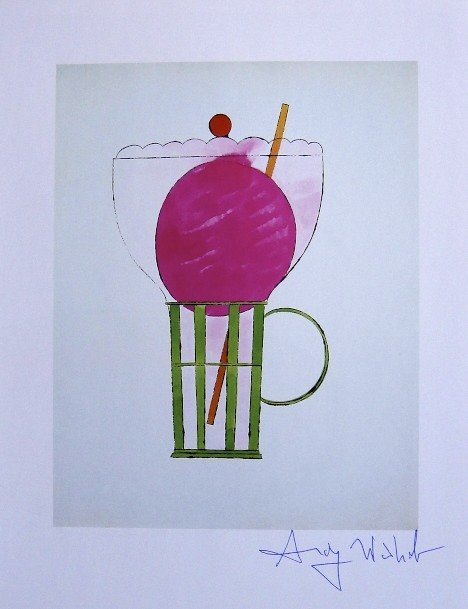 ANDY WARHOL, Signed Print, 1982