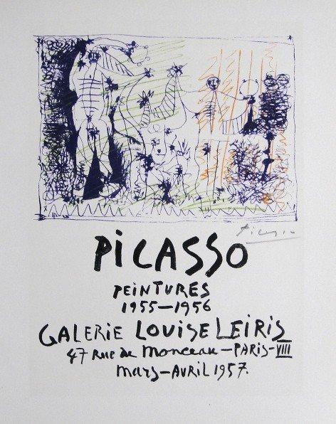 Pablo PICASSO, signed Print, 1962