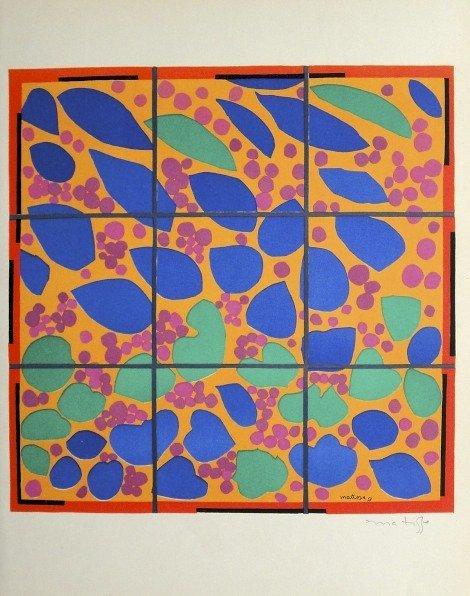 "Henri Matisse ""Verve Paris"" signed original Lithograph"
