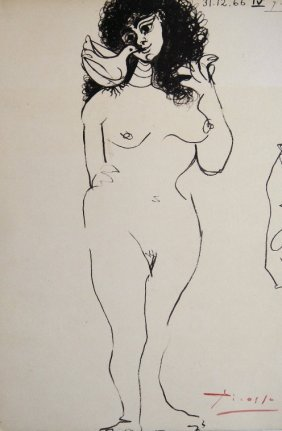 Pablo Picasso, signed Lithograph