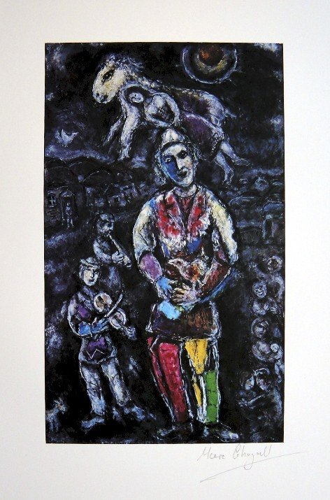 MARC CHAGALL, Hand signed Print, 1967 - 1977