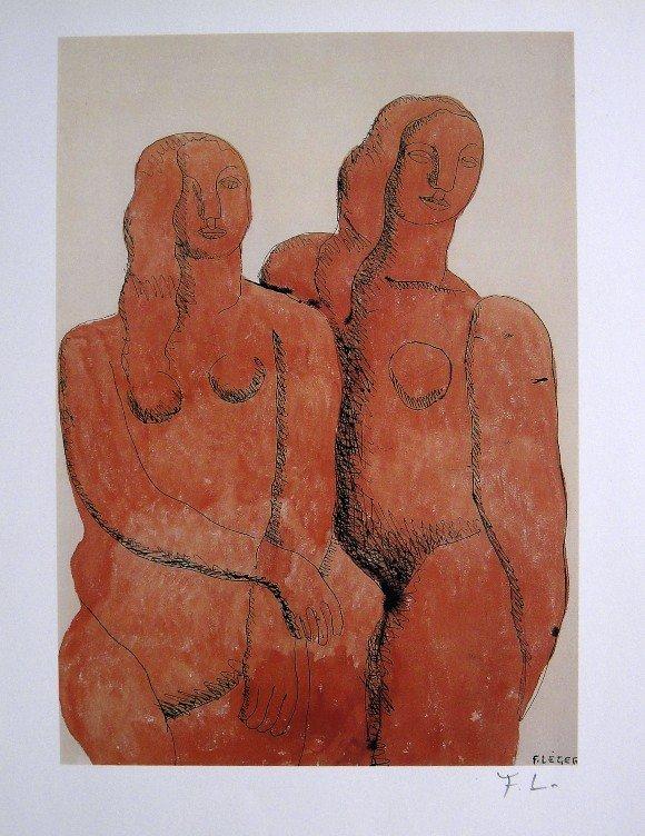 Fernand Leger, special signed Print