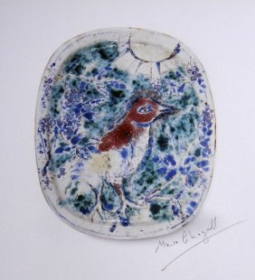 Marc Chagall, special signed Print