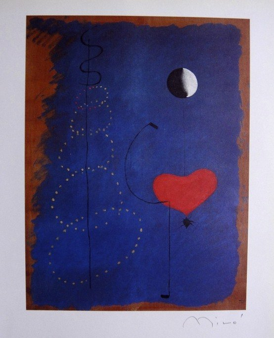 Joan Miro, special signed Print