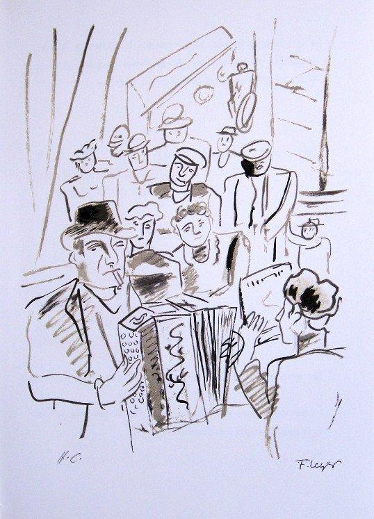 "Fernand Leger ""Paris Ma Ville"" Special Print"
