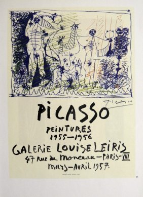 Pablo PICASSO, Signed Print, 1962