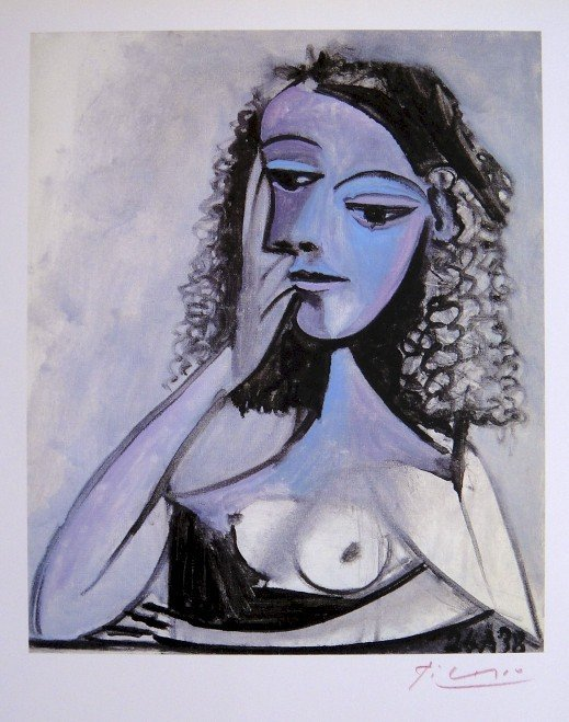 Pablo PICASSO, signed Special Print, 1962