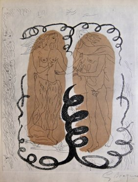 Georges Braque, Hand signed Lithograph