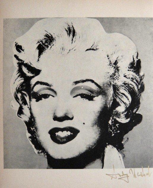 "ANDY WARHOL, Special Print, ""Marilyn"""