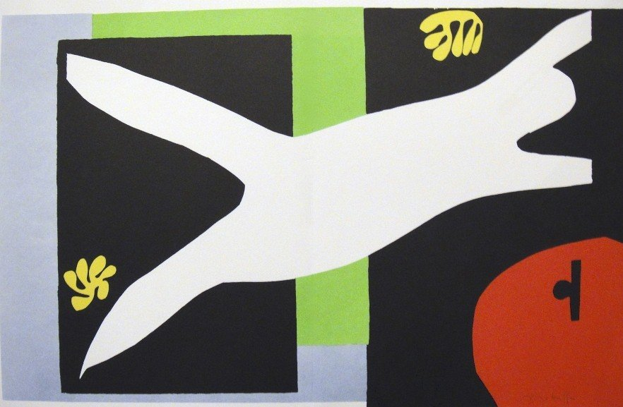 "Henri Matisse, signed Lithograph ""Jazz"", 1951"