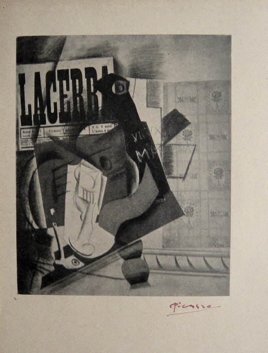 Pablo Picasso, signed special Print 1921