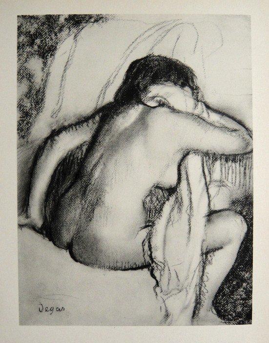 Edgar Degas, Original Lithograph, 1963
