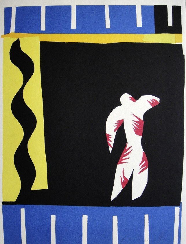 "Henri Matisse, signed Lithograph ""Jazz"", 1951"