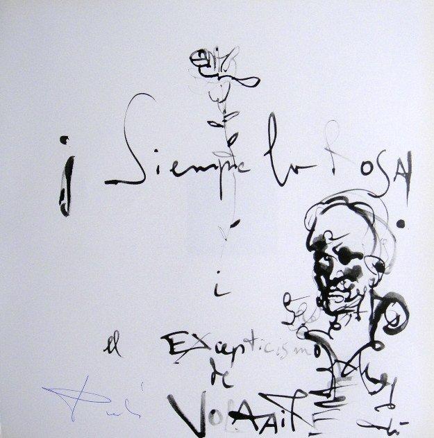 Salvador DALI, Signed Reproduction Print, Dali De Gala