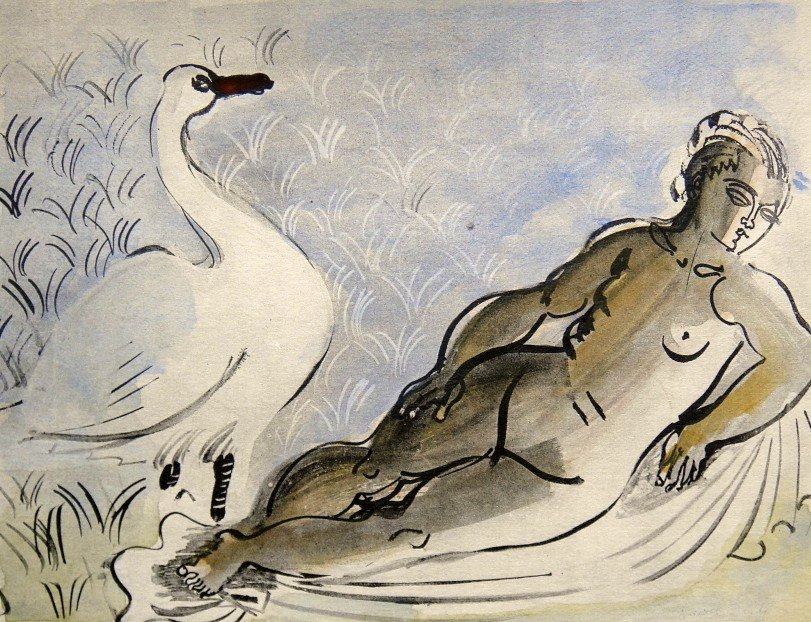 Raoul DUFY, signed original Lithograph, 1930