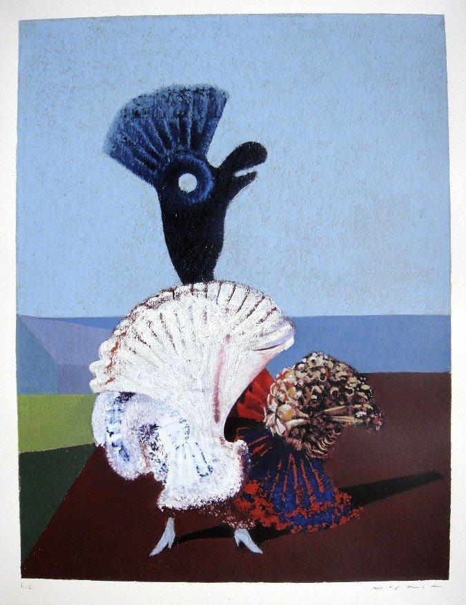 """Max Ernst, Sig. Lithogrraph """"Danseuse Espagnole"""", 1976"""