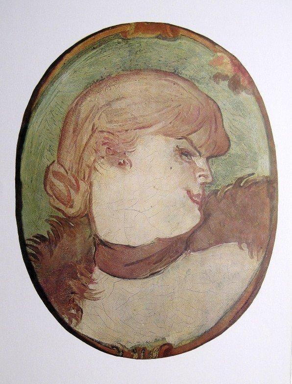 Toulouse-Lautrec, Original Lithograph, 1966