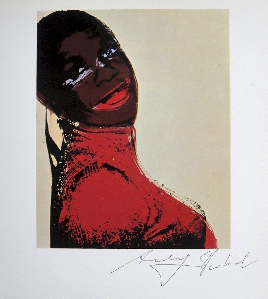 Andy Warhol, signed offset Print, 1975