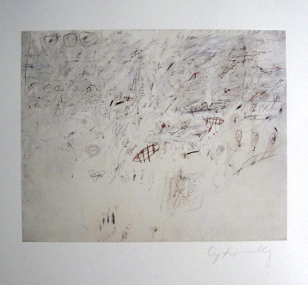 CY TWOMBLY, Special signed Print, 2002