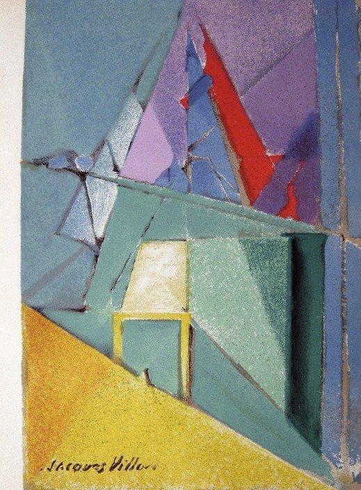 "Jacques VILLON, original Lithograph ""Intimite"" 1963"
