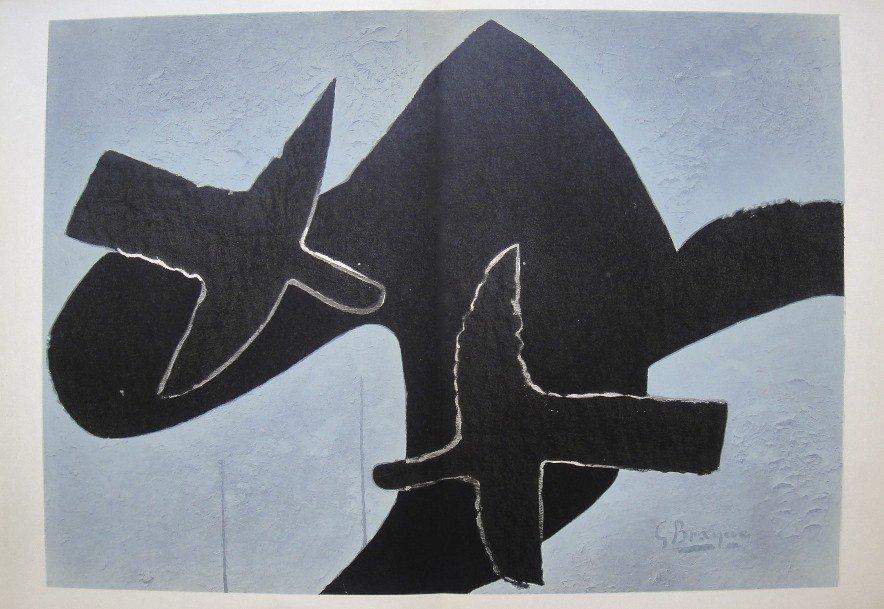Georges Braque, original Lithograph, 1959