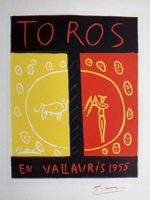 Pablo Picasso Lithograph Ecole de Paris 1959