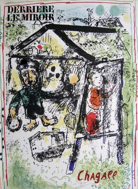 Marc Chagall, signed Lithograph, 1969