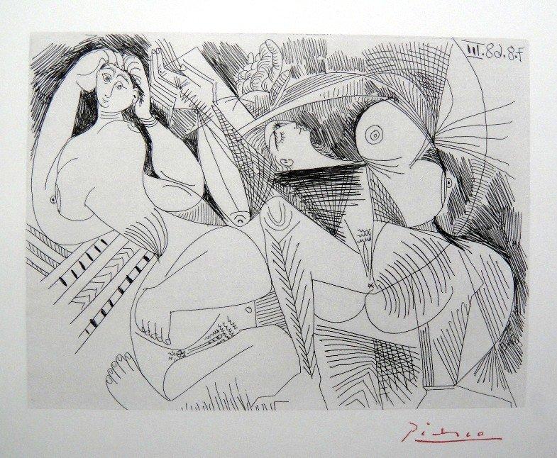 PABLO PICASSO  Picasso 347  Print